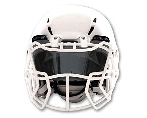 EliteTek Football & Lacrosse Eye-shield Visor (Smoke Tinted)