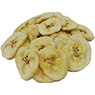 NUTS U.S. - Banana Chips, Dried, Sweetened in Resealable Bag (3 LBS)