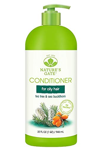 (Nature's Gate Calming Conditioner, Tea Tree & Sea Buckthorn, 32 fl. oz. )