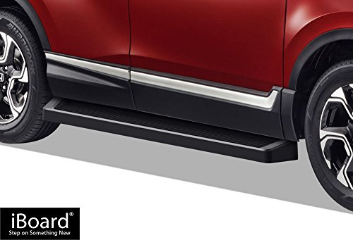 - APS iBoard (Black Powder Coated Running Board Style) Running Boards | Nerf Bars | Side Steps | Step Rails for 2016-2019 Honda Pilot Sport Utility 4-Door