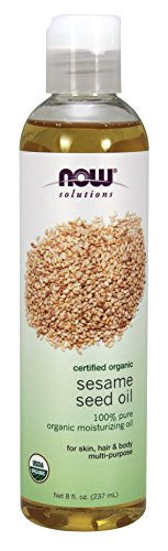 NOW Organic Sesame Seed 8 Ounce product image