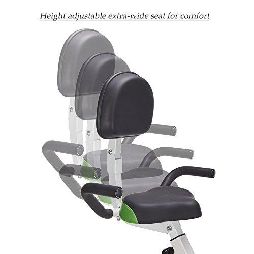 Pinty Adjustable Folding Upright Magnetic Exercise Bike