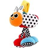 Sassy  ベビーカー用おもちゃ ジッター・バグオレンジTYBW80056