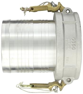 Dixon Aluminum 356T6 Boss-Lock Type C Cam and Groove Fitting, Socket x Barbed