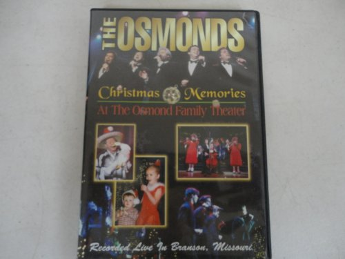 The Osmonds Christmas Memories At the Osmond Family Theater Recorded Live in Branson, - Branson Missouri Kids With