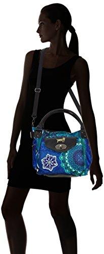 Desigual BOLS_MCBEE_SEDUCCIO - Bolso de mano de material sintético mujer azul - Blau (Azul Klein 5036)