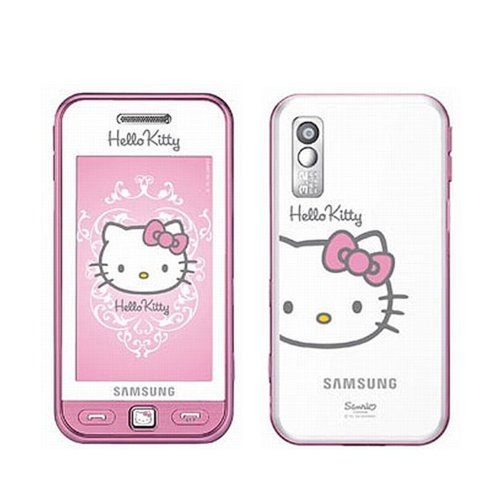 a772aea7d6918 Samsung S5230 SmartPhone Pink Hello Kitty Mobile Phone - Unlocked:  Amazon.co.uk: Electronics