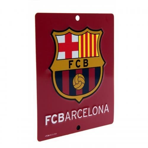 Official FC Barcelona FC Window Sign Square - Barcelona Square