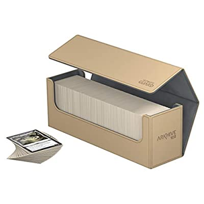 Ultimate Guard Arkhive 400+ XenoSkin Sand: Toys & Games