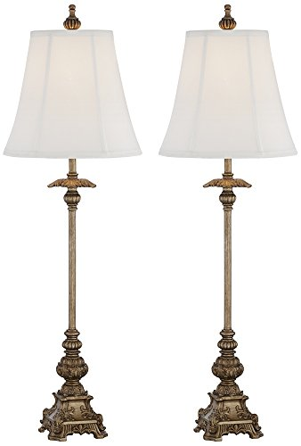 Juliette Gold Buffet Table Lamps - Set of 2