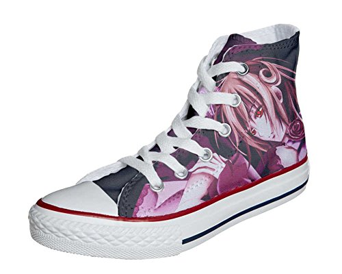 Schuhe Custom Converse All Star, personalisierte Schuhe (Handwerk Produkt customized) Manga