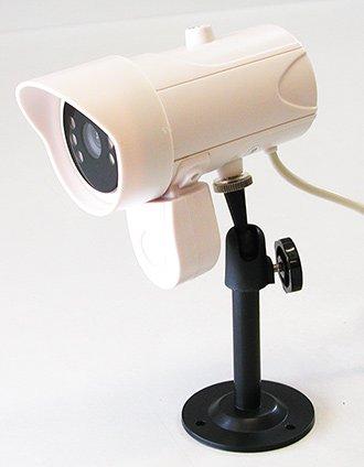 Lorex de vigilancia cámara de seguridad Audio de dos canales visión nocturna al aire libre blanco