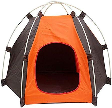 Tente pour Chien Chat Maison Portable en Oxford Étanche pour Extérieur Abri  pour Chien Chat de Taille Moyenne Petite Panier Niche Chien pour Jardin ...