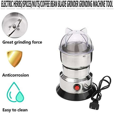 Electric Grinder Herbs Spices Nuts Coffee Bean Blades Household Grinding Machine