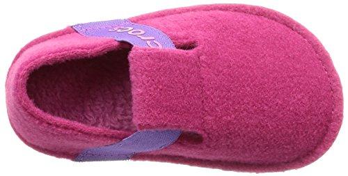 Crocs Unisex-Kids Classic K Slipper, Candy Pink, 12 M US Little Kid by Crocs (Image #7)