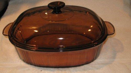 Vision Visions Corning 4 Qt Roaster Roasting Pan