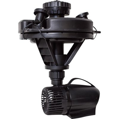 Pond Boss DFTN12003L Floating Fountain With Lights, 50 Foot Power Cord, 1/4 hp - 0.25 Hp Water
