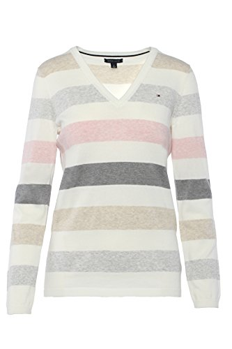 Tommy Hilfiger - Pull - Femme Multicolore Multicolore Large