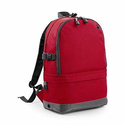Medium Backpack Red Unisex's Classic Pro BG550ORAN Athleisure BagBase Orange nZYw8axa
