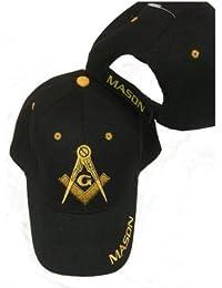 Freemason Embroidered Adjustable Hat Mason Masonic Lodge Baseball Cap