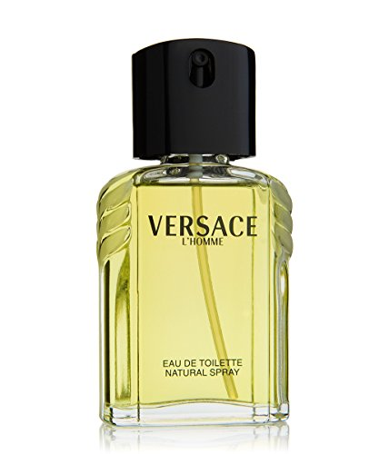 (VERSACE Eau De Toilette Spray, L'homme, 3.4 Ounce)