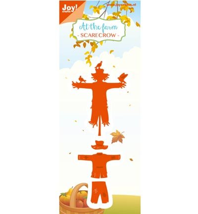 Joy Crafts - Cut-Emboss Die -At The Farm - Scarecrow]()