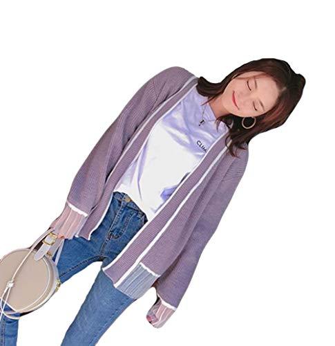 (ニカ)カーディガン レディース ゆったり ニットコーディガン 羽織 かわいい 秋 冬 アウター 通学 ニットセーター