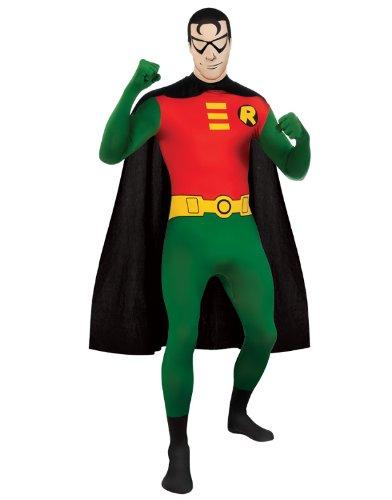 Superhero 2nd Skin Full Body Suit Adult Costume