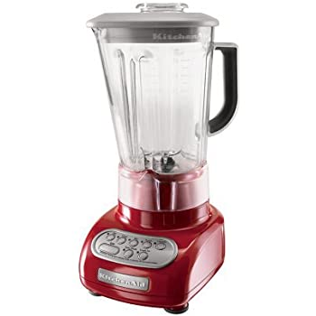 kitchenaid ultra power blender. kitchenaid ksb560er 5-speed blender with polycarbonate jar, empire red kitchenaid ultra power i