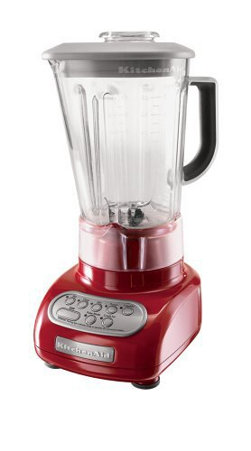 KitchenAid KSB560ER 5 Speed Blender With Polycarbonate Jar, Empire Red