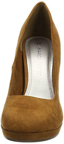 Marco Tozzi 22441, Zapatos de Tacón para Mujer Marrón (Cognac 305)