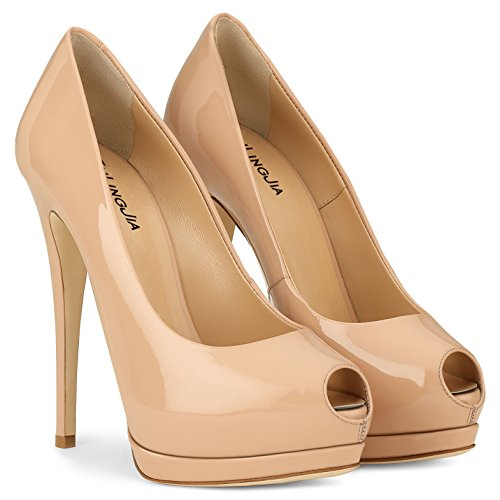 Mariage et Basique Chaussures Robe Business Printemps PU Soire Stiletto E 41 Couleur Femmes Taille Formal Pompe Pointu XUE E Talons Fte Chaussures t Work Talon 6q87U5