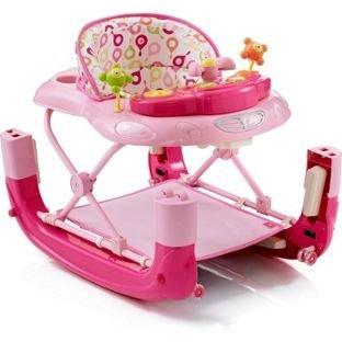 My Child Walk N Rock - Andador para bebé, color rosa: Amazon.es ...