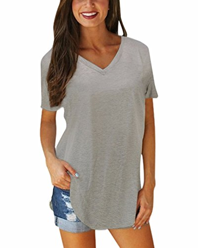 StyleDome Casual Blouse Shirts Asymmetrical