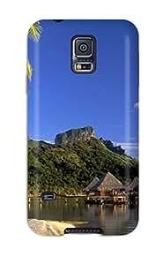 Awesome Design Bora Bora Hard Case Cover For Galaxy S5