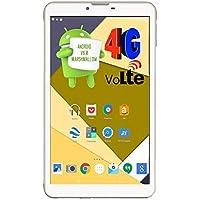 I Kall N4 4G Calling Tablet with 7 Inch Display Dual Sim 1GB Ram and 16GB Internal Memory (White)
