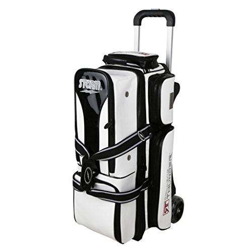 Storm Rolling Thunder 3 Ball Signature Bag White/Black by Storm
