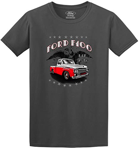 Mens Ford Truck Series T-Shirts (Large, F-100 Truck)