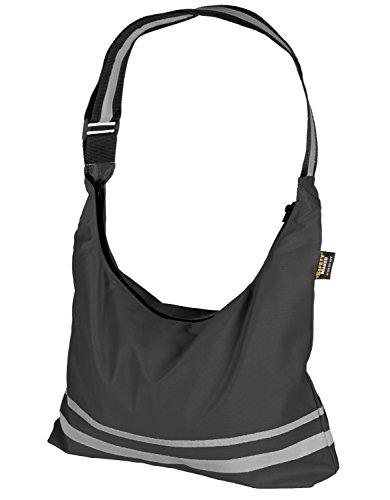 Safety Maker Uni Faltbare Shoppingbag, Schwarz, One size