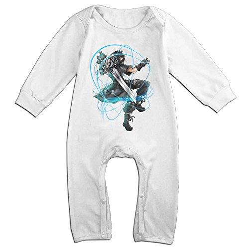 Cute Dissidia Final Fantasy Jumpsuit For Toddler White Size 24 Months