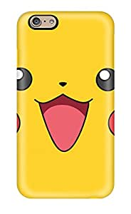 For StephenThomas Iphone Protective Case, High Quality For Iphone 6 Pikachu Skin Case Cover