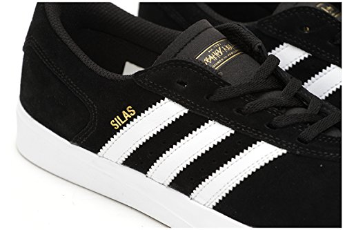Adidas Silas Vulc ADV Core Black/White/White