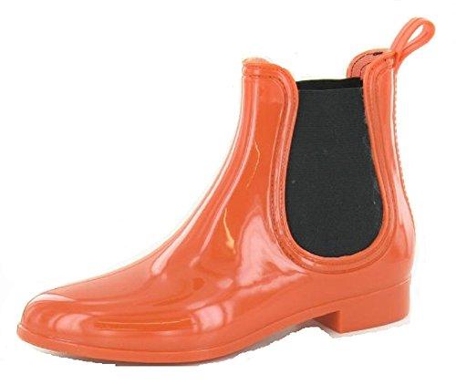 Revendeur Cheville Orange 6 Taille Dames Chelsea Wellies 7 Wellington 4 5 3 8 Femmes Bottes Welly pBc5qrwBxZ