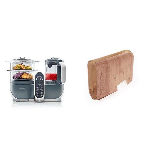 cocci/ón al vapor y batidora color blanco A001117 Procesador de alimentos para beb/és Babymoov Nutribaby