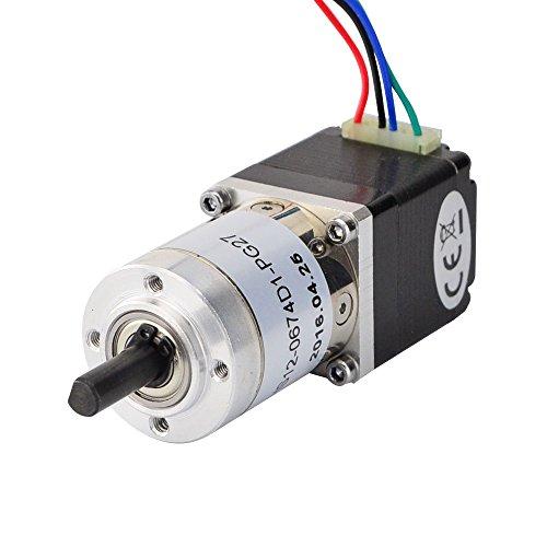 27:1 Planetary Gearbox Nema 11 Dual Shaft Geared Stepper Motor DIY Robot Camera