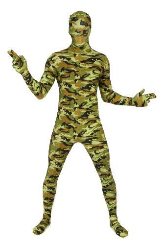 Xxl Morphsuit (Morphsuits Premium Commando  XXL, Green / Orange / Brown, XX-Large)