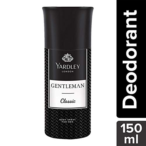 Yardley London Gentleman Classic Deo For Men, 150ml