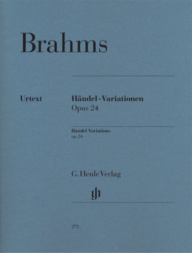 Download Brahms: Handel Variations, Op. 24 pdf