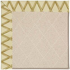 Bamboo Capel (Capel Rugs Zoe-White Wicker Rectangle Machine Tufted Area Rug, 2 by 3', Bamboo)