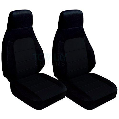 1990-2000 Mazda MX-5 Miata Seat Covers: Black (22 Colors) 1991 1992 1993 1994 1995 1996 1997 1998 1999 Bucket